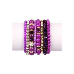 👛ARRIVED👛Purple bracelet set